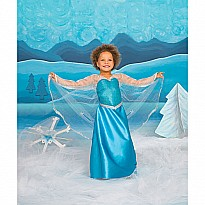 Ice Crystal Queen Gown Medium