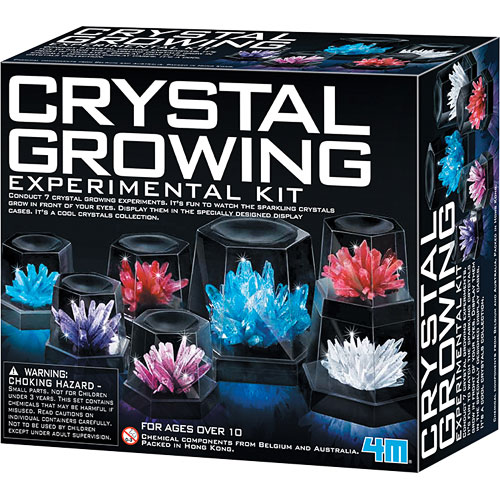 Crystal Growing Experimental Kit Toysmith
