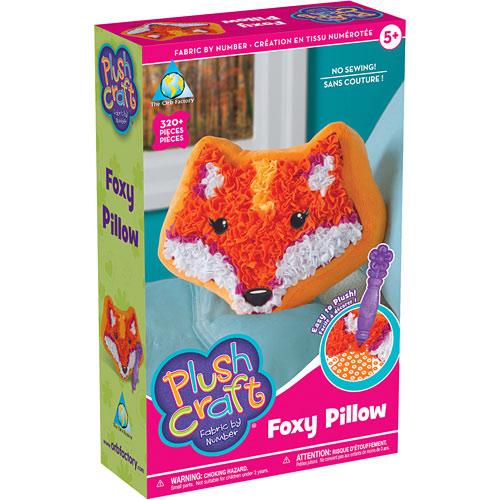 Plushcraft Foxy Pillow Play Matters Toys