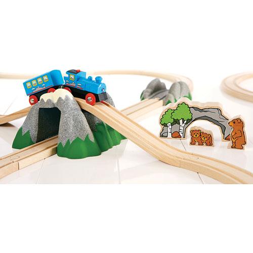 Brio Figure 8 Mountain Adventure Set - Toy Sense