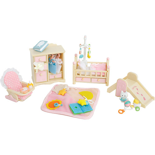 Calico Critters Baby S Nursery Set Over The Rainbow