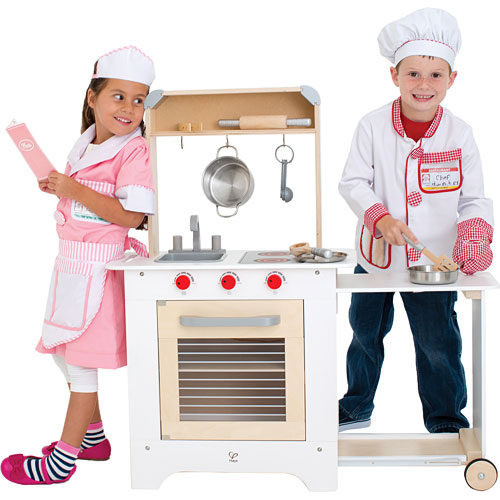 Small Wooden Play Kitchen By Heartwood By Heartwoodnaturaltoys: Cook 'n Serve Kitchen