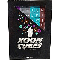 Xoom Cubes- Brown, Purple, Gray, Teal