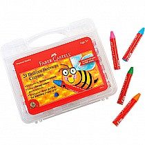 Faber-Castell Brilliant Beeswax Crayons 24 ct