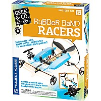 Geek & Co. Rubber Band Racers by Thames & Kosmos