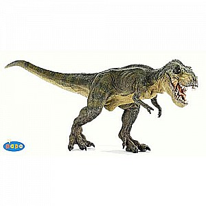 Papo Green Running T-Rex with moving jaw