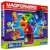Magformers Rainbow 30 pc Set