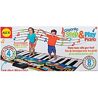 Gigantic Step & Play Piano by Alex