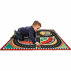 Round the Race Track Rug