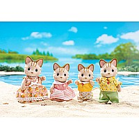 Calico Critters Sandy Cat Family by International Playthings