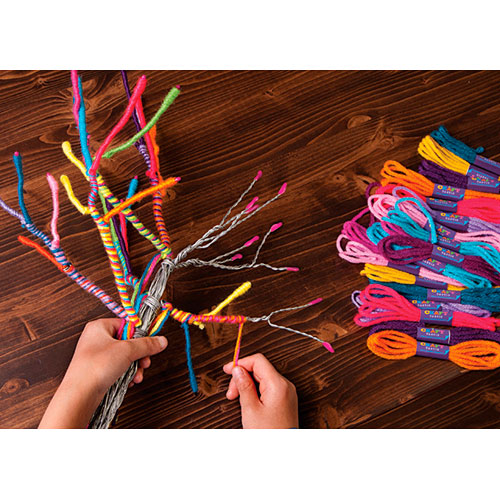 Craft Tastic The Yarn Tree Kit