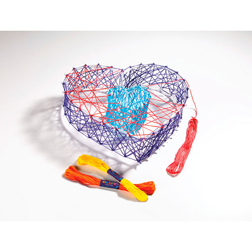 c8ec221cb Craft-tastic The 3D String Art Kit - Over the Rainbow