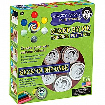Mixed by Me Glow in the Dark Thinking Putty Kit