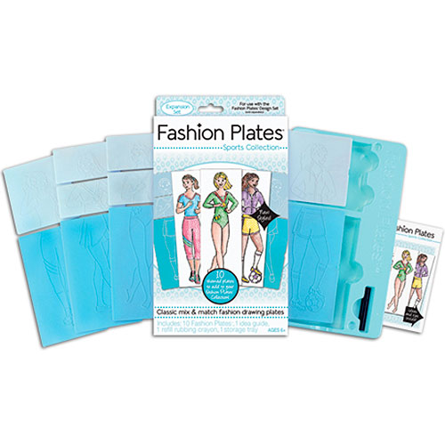 Kahootz Fashion Plates Sports Expansion Pack Kahootz Toys 01302