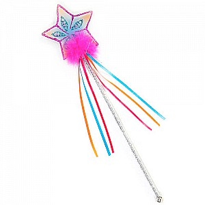 Great Pretenders Glitter Rainbow Wand - Pink