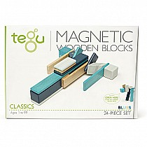 Tegu Magnetic Wooden Blocks Sunset 24 pc set