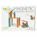 Tegu Magnetic Wooden Blocks Sunset 42 pc set