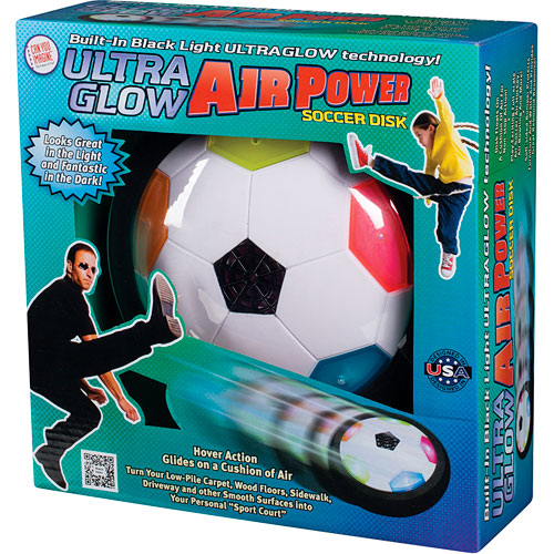 Ultraglow Air Power Soccer Disk Grand Rabbits Toys In
