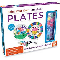 Paint Your Own Porcelain Plates by Mindware
