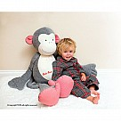 Kathe Kruse Carlo Monkey Dangle XXL Stuffed Animal
