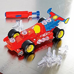 Design & Drill Power Play Vehicle - Race Car