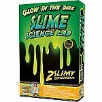 Glow in the Dark Slime Science Lab