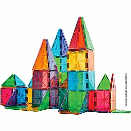 MagnaTiles™ Clear Colors 100 Piece Set