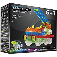 Laser Pegs 6-in-1 Fire Truck