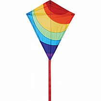 "25"" Diamond Kite - Radiant Rainbow"
