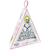 Colour-A-Birthday Hat Party 4 Pack
