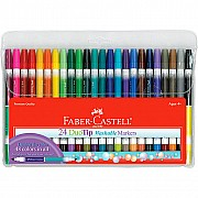 24 DuoTip Washable Markers