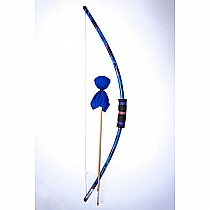 Two Bros Blue Tie Dye Bow & Arrow