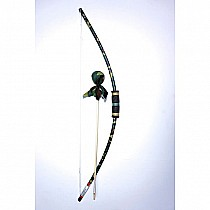 Two Bros Camo Bow & Arrow
