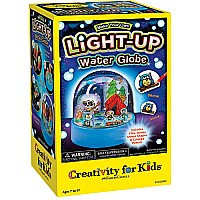 Make Your Own Light-Up Water Globe