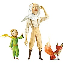 The Little Prince Discovering Figurines
