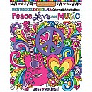 Notebook Doodles - Peace, Love & Music