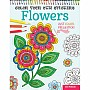 Color Your Own Stickers - Flowers