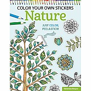 Color Your Own Stickers - Nature