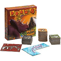 Draw 4 - Dig for Dinos Game