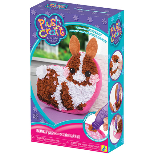 PlushCraft™ Bunny Pillow