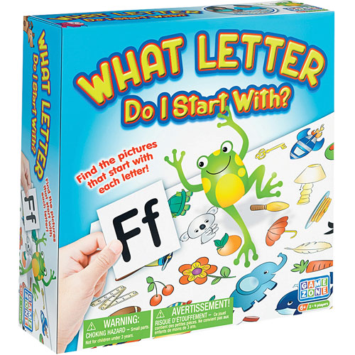Toys That Start With E : What letter do i start with game the toy station at