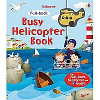 Busy Helicopter Book by Usborne