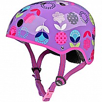 Floral Dot Helmet - Small