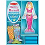 Merry Mermaid Magnetic Dress-Up Set by Melissa & Doug
