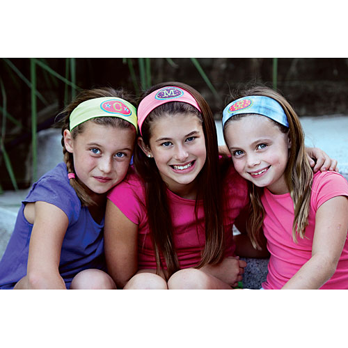 Logo Loops Initial Headbands - The Learning Tree 25ce7769321