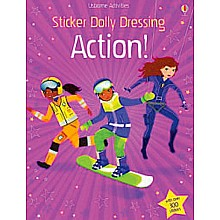 Sticker Dolly Books - Action