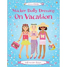 Sticker Dolly Books - On Vacation
