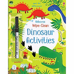 Wipe -Clean Dinosaur Activities