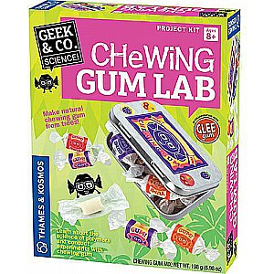 Geek Amp Co Science Chewing Gum Lab Candy Science Kit