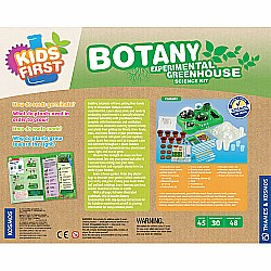 Botany - Experimental Greenhouse